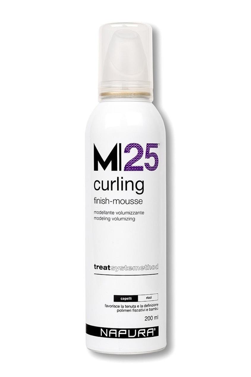 Napura Мусс Curling M25 для Вьющихся Волос Сильной Фиксации, 200 мл