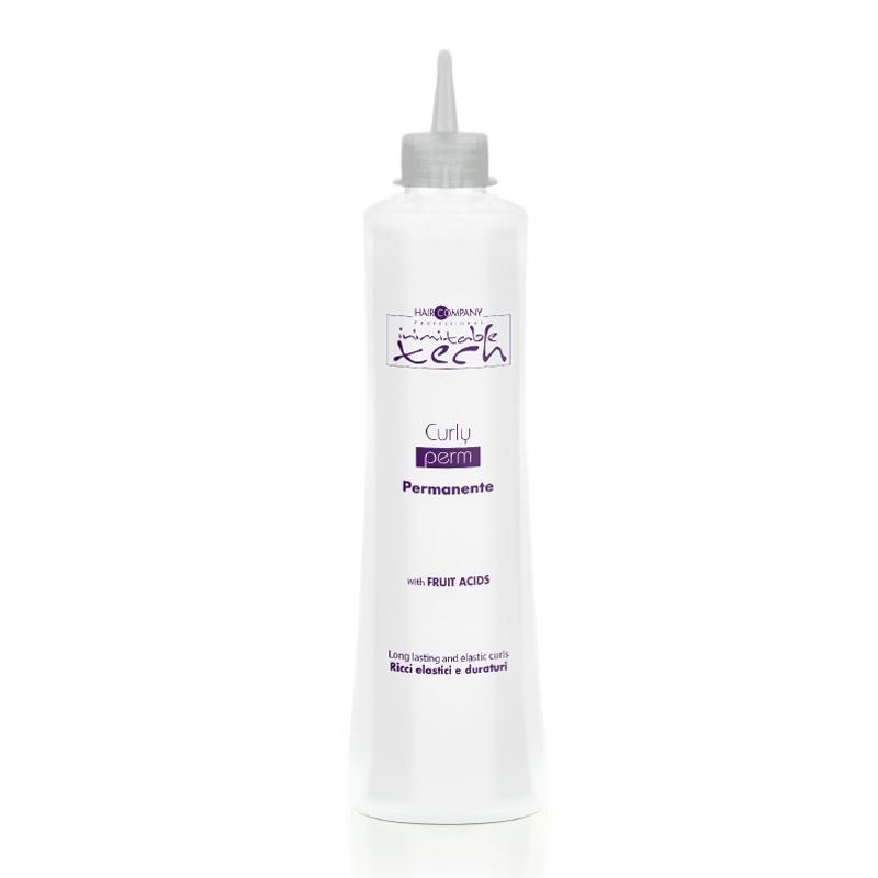 HAIR COMPANY Лосьон Curly Perm для Химической Завивки Волос, 500 мл состав для щадящей химической завивки окрашенных волос trioform save g 1 л
