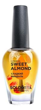 Solomeya Масло Cuticle Oil Sweet Almond для Кутикулы и Ногтей с Витаминами Сладкий Миндаль, 14 мл
