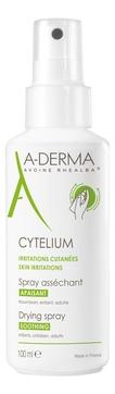 A-Derma Спрей Cytelium Подсушивающий Успокаивающий, 100 мл