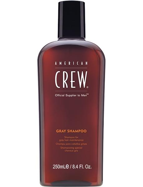 American Crew Шампунь для Седых Волос Daily Gray Shampoo, 250 мл шампунь для седых и седеющих волос american crew classic gray shampoo 250 мл