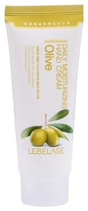 Lebelage Крем для Рук Увлажняющий с Экстрактом Оливы Daily Moisturizing Oilve Hand Cream, 100 мл цена 2017