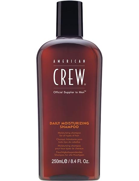 American Crew Шампунь для Ухода за Нормальными и Сухими волосами Daily Moisturizing Shampoo, 250 мл