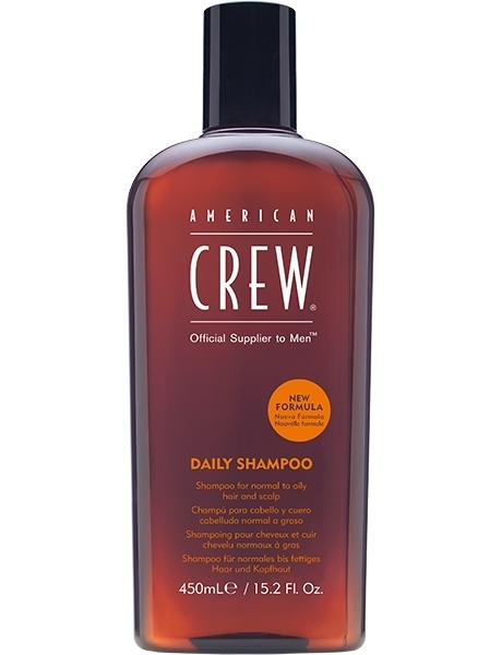 Фото - American Crew Шампунь для Ежедневного Ухода за Волосами Daily Shampoo, 450 мл american crew шампунь для ежедневного ухода за волосами 450 мл american crew для тела и волос