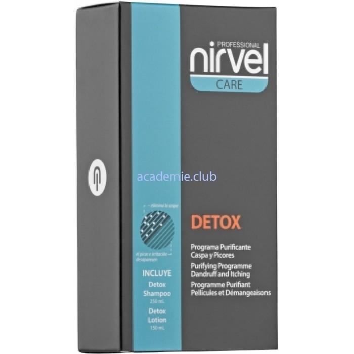 Nirvel Professional Комплекс Detox Complex против Себореи Перхоти, 250 мл+150 мл