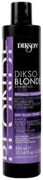Dikson Шампунь Dikso Blonde Shampoo Anti-Yellow Toning Тонирующий против Желтизны, 300 мл cocochoco шампунь для блондинок от желтизны blonde shampoo anti yellow 500 мл