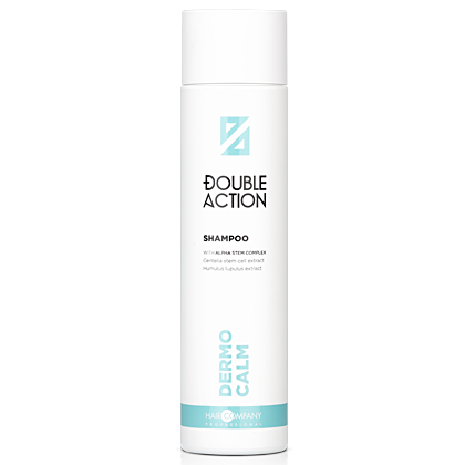 HAIR COMPANY Шампунь Double Action Dermo Calm Shampoo смягчающий, 250 мл