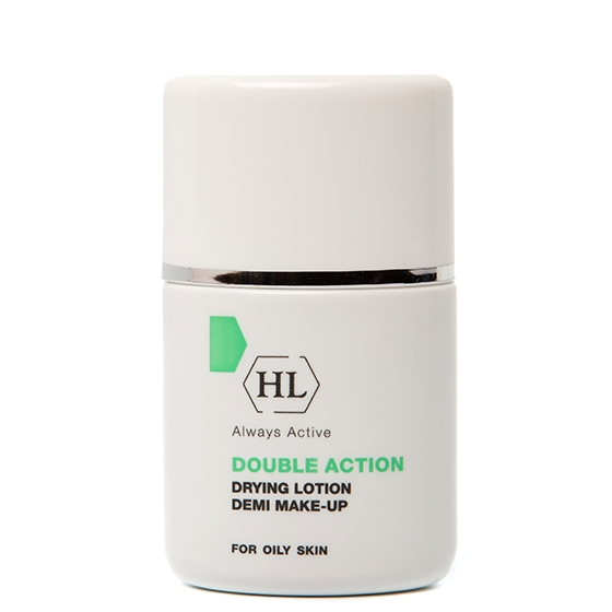цена на Holy Land Лосьон Double Action Drying Lotion Make-Up Подсушивающий с Тоном, 30 мл