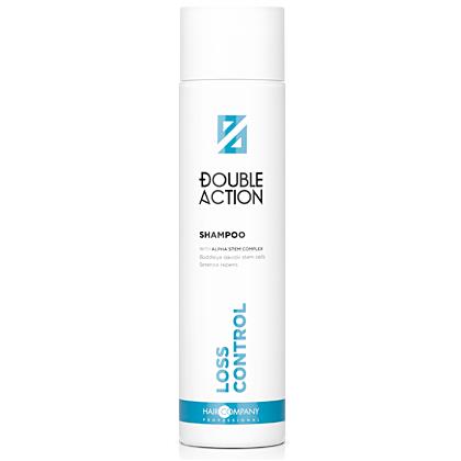 HAIR COMPANY Шампунь Double Action Loss Control Shampoo против выпадения волос, 250 мл каарал шампунь против выпадения