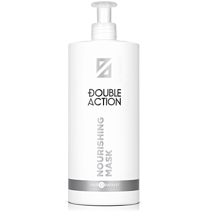 HAIR COMPANY Маска Double Action Nourishing Mask питательная, 1000 мл