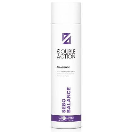 HAIR COMPANY Шампунь Double Action Sebo Balance Shampoo регулирующий работу сальных желез, 250 мл себорейный дерматоз