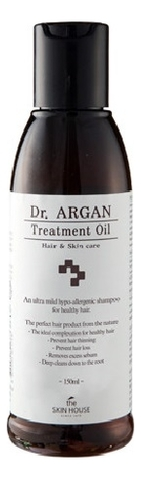 The Skin House Масло Арганы для Восстановления Волос Dr.Argan Treatment Oil, 150 мл