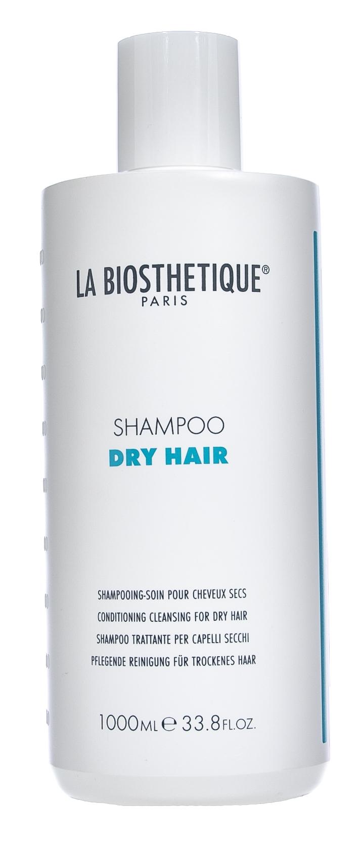La Biosthetique Шампунь Dry Hair Shampoo Мягко Очищающий для Сухих Волос, 1000 мл curex classic набор для волос эстель шампунь бальзам маска 1000 1000 500 мл