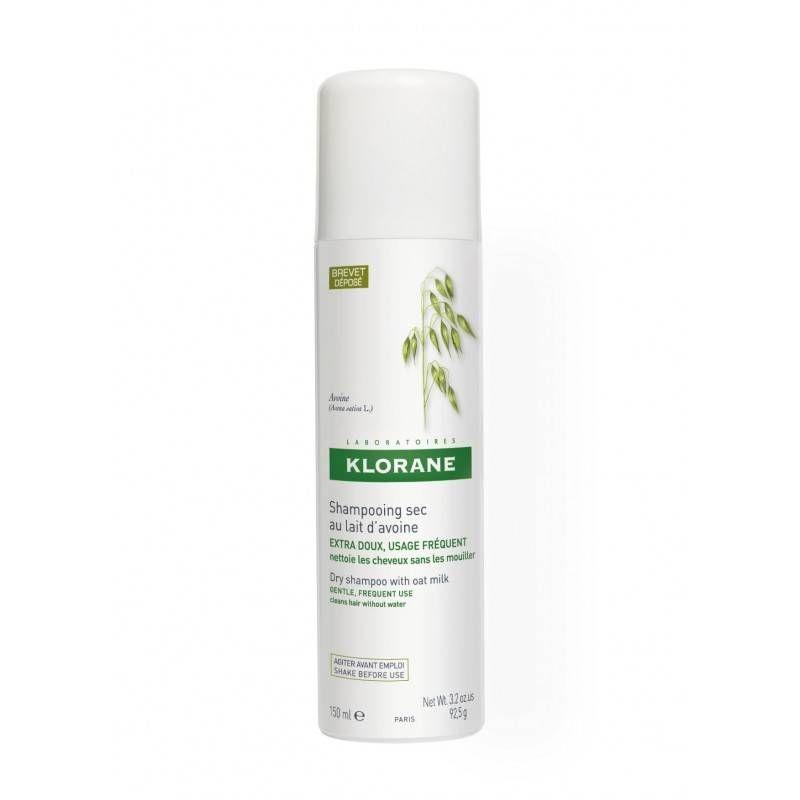 Klorane Шампунь Dry Shampoo Сухой с Овсом (Спрей), 2*150 мл