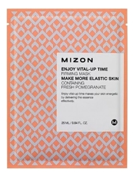 MIZON Маска Enjoy Vital-Up Time Firming Mask Укрепляющая Тканевая для Лица, 25 мл недорого