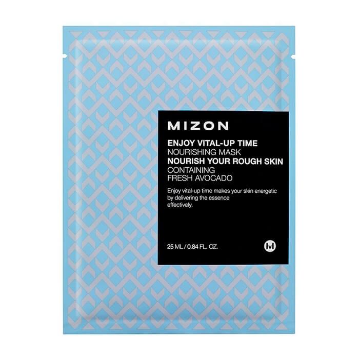 MIZON Маска Enjoy Vital-Up Time Nourishing Mask Тканевая Питательная для Лица, 25 мл dr gloderm маска для лица разглаживающая wrinkletox time to mask 25 мл