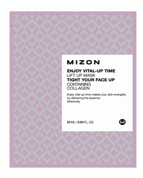 MIZON Маска Enjoy Vital Up Time Lift Mask Тканевая для Лица с Лифтинг Эффектом, 25 мл