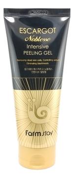 FarmStay Гель Escargot Noblesse Intensive Peeling Gel Отшелушивающий с Муцином Королевской Улитки, 180 мл