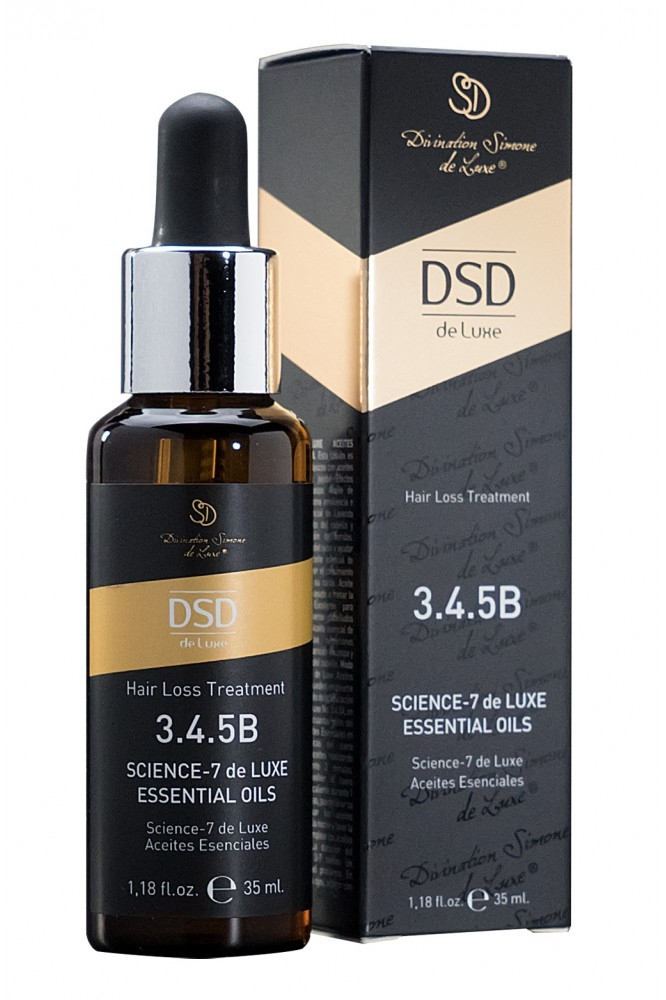 Divination Simone de Luxe Масло Essential Oils № 3.4.5 Б Эфирное Сайнс-7 Де Люкс, 35 мл