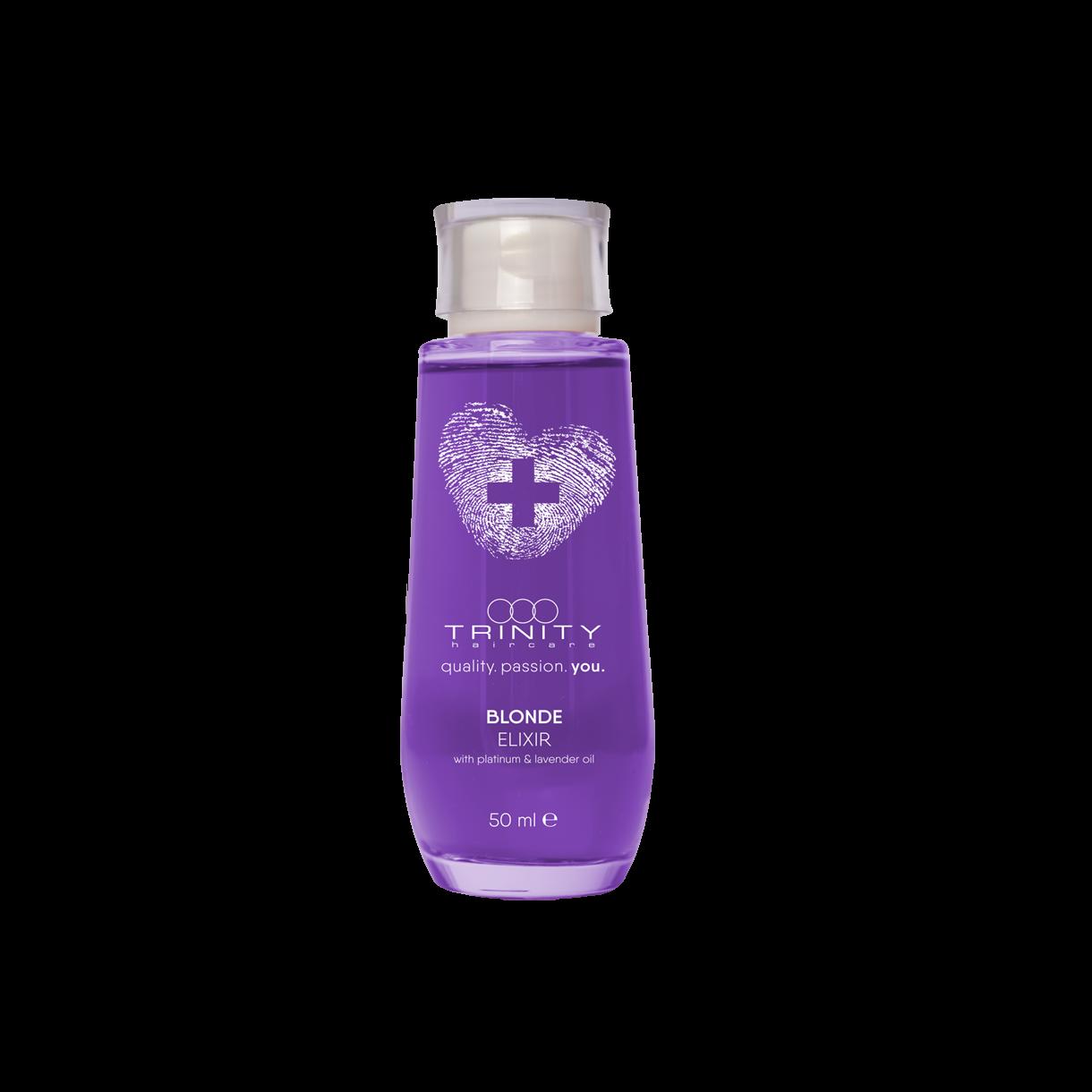 Trinity Hair Care Эликсир Essentials Blonde Elixir для Окрашенных и Осветленных Волос, 50 мл