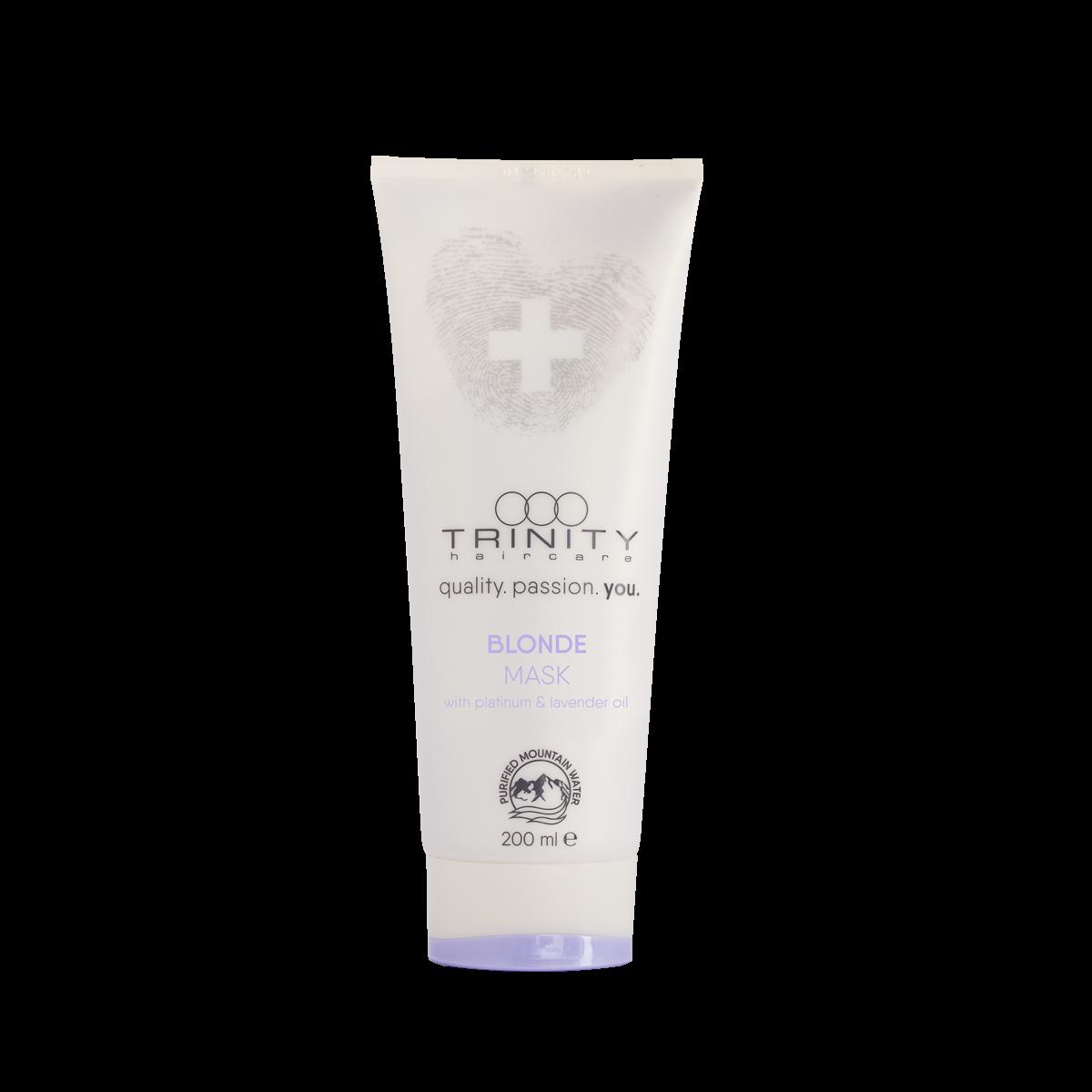 Trinity Hair Care Маска Essentials Blonde Mask для Окрашенных и Осветленных Волос, 200 мл