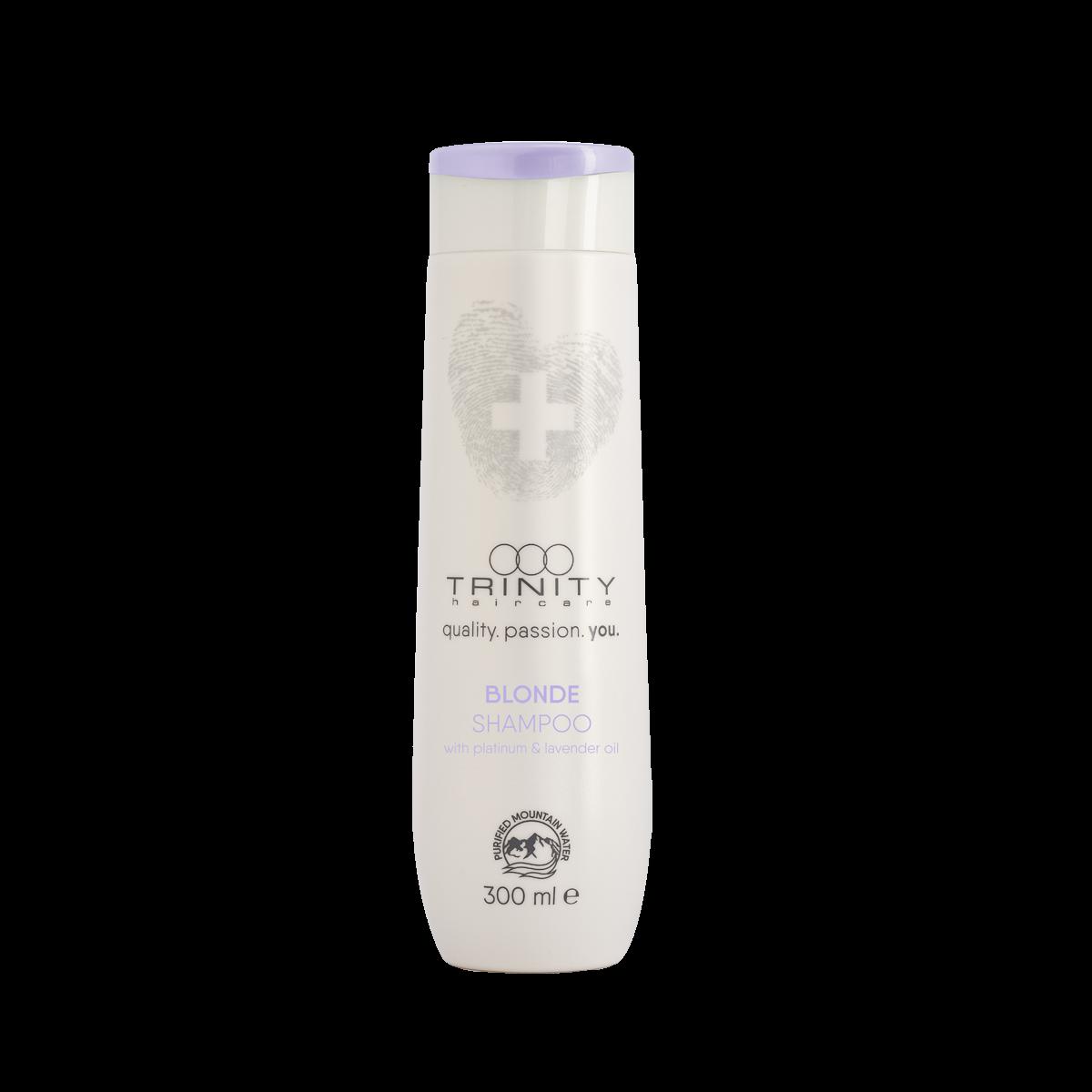 Trinity Hair Care Шампунь Essentials Blonde Shampoo для Окрашенных и Осветленных Волос, 300 мл cutrin шампунь для окрашенных волос colorism shampoo 300 мл