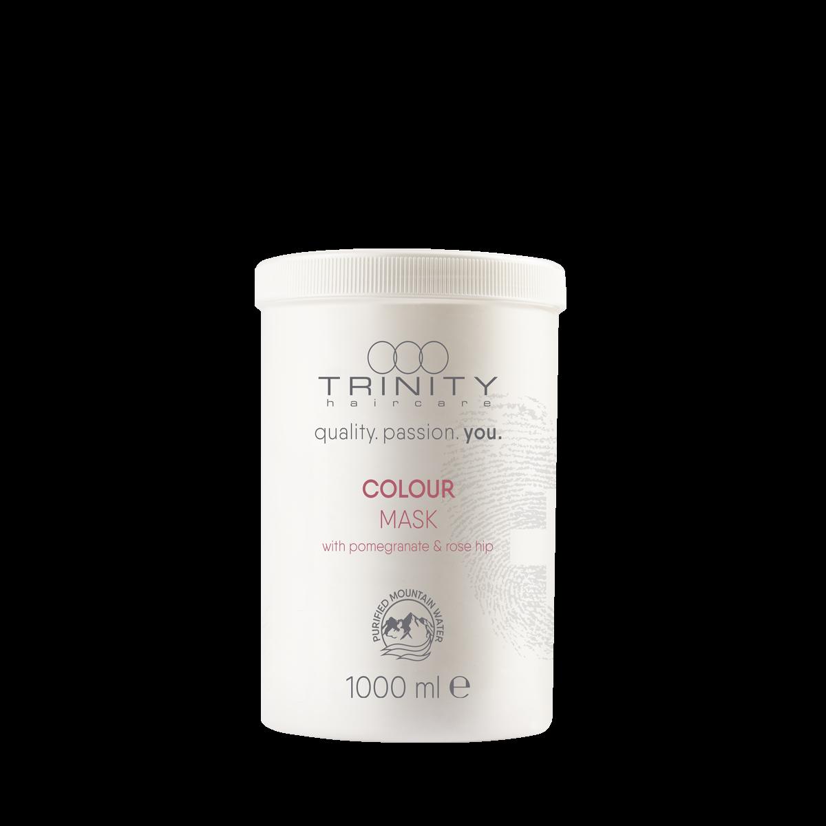 Фото - Trinity Hair Care Маска Essentials Colour Mask для Окрашенных Волос, 1000 мл trinity hair care маска essentials summer mask с уф фильтром 200 мл