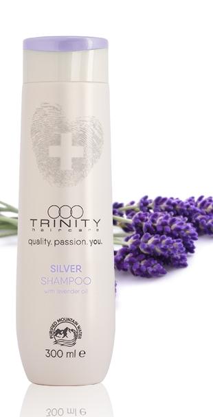 Trinity Hair Care Шампунь Оттеночный Серебряный Essentials Silver Reflex Shampoo, 1000 мл lisap шампунь для седых мелированных волос top care repair silver care shampoo 250 мл