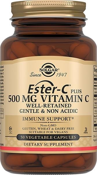Solgar Витимины Ester-C Plus Эстер-С Плюс Витамин С 500 мг №50