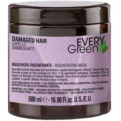 Dikson Маска Every Green Damaged Hair Mashera Rigenerante для Поврежденных Волос, 500 мл dikson every green dry hair mashera nutriente маска для сухих волос 250 мл