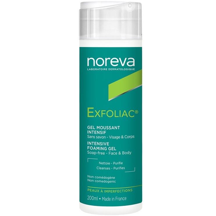 Noreva Гель Exfoliac Очищающий Пенящийся, 200 мл