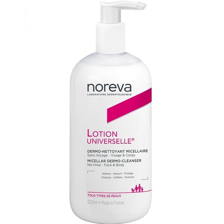 Noreva Лосьон Exfoliac Универсальный Очищающий Мицеллярный с Попой, 500 мл цена 2017