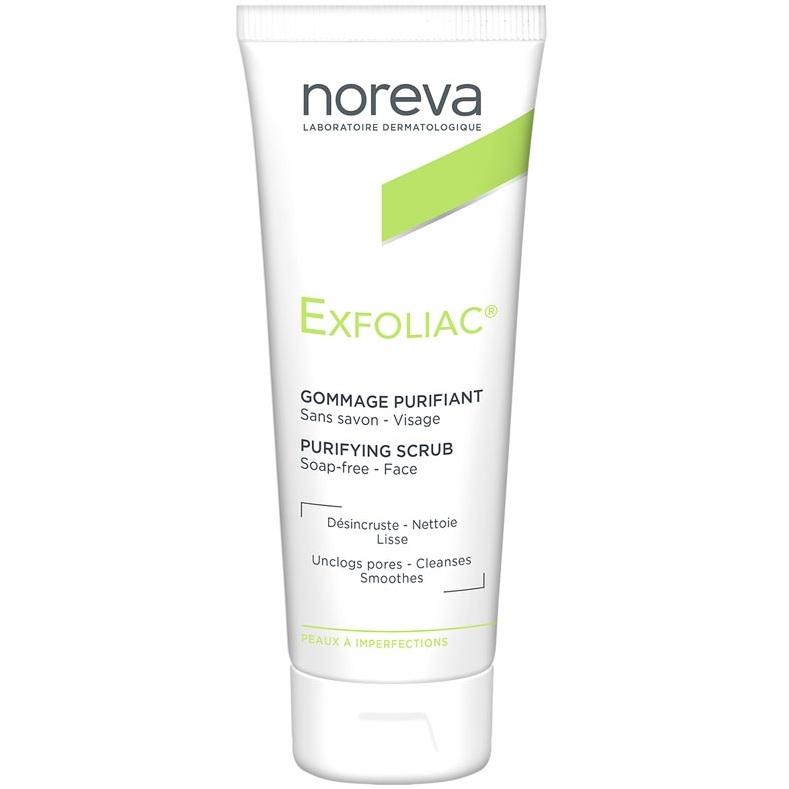 Noreva Скраб Exfoliac Очищающий, 50 мл noreva exfoliac gel moussant