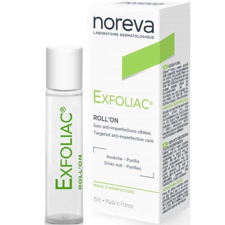 Noreva Карандаш Exfoliac Роликовый Флакон, 5 мл noreva exfoliac gel moussant