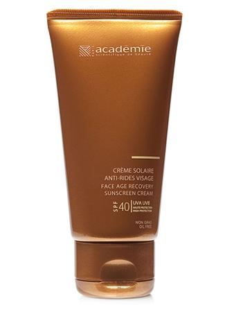 Academie Крем Face Age Recovery Sunscreen Cream для Лица Солнцезащитный Регенерирующий SPF 40, 50 мл