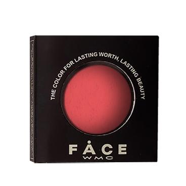 Wamiles Тени Face The Colors для Век Цвет 010 Красный Матовый, 1,7г wamiles румяна face the colors для лица цвет 013с классический розовый 5г