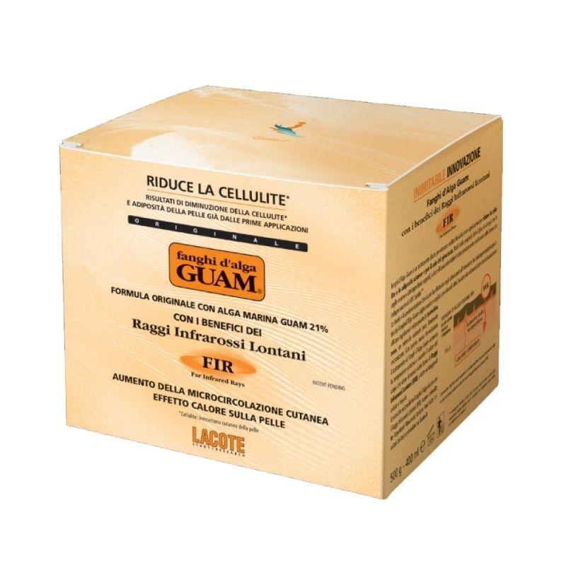 GUAM Маска Fir Антицеллюлитная Разогревающая с Микрокристаллами Турмалина, 500г маска антицеллюлитная активная с микрокристаллами турмалина guam fir 500 мл