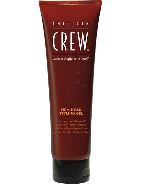 цена на American Crew Гель для Волос Сильной Фиксации, Придающий Объем Тонким Волосам Firm Hold Gel Tube в тубе, 250 мл