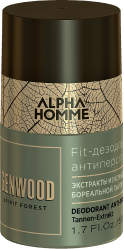 ESTEL Дезодорант Fit Otium Forest Genwood & Alpha Homme Антиперспирант Genwood, 50 мл дезодорант антиперспирант kobayashi