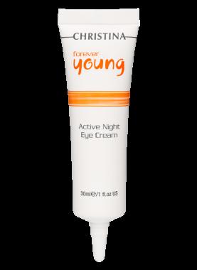 Christina Крем Forever Young Active Night Eye Cream Активный Ночной  для Кожи Вокруг Глаз, 30 мл