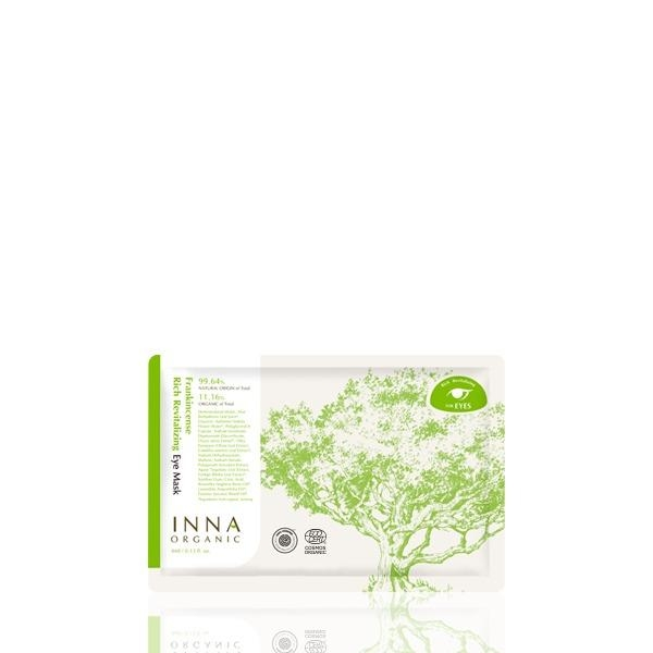 Inna Organic Маска Frankincense Rich Revitalizing Eye Mask Восстанавливающая для Кожи вокруг Глаз с Ладаном, 4 мл frankincense
