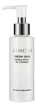 Limoni Масло Fresh Skin Double Effect Oil Cleanser Гидрофильное, 120 мл