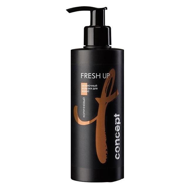 Concept Бальзам Fresh Up Оттеночный для Коричневых Оттенков Волос, 250 мл бальзам для волос concept concept co066lwujp57