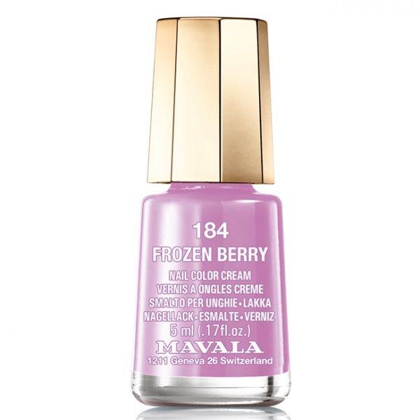 Mavala Лак Frozen Berry 9091184 для Ногтей Ледяная Ягода, 5 мл