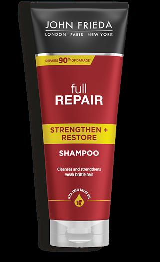 John Frieda Шампунь для Волос Укрепляющий + Восстанавливающий Full Repair, 250 мл