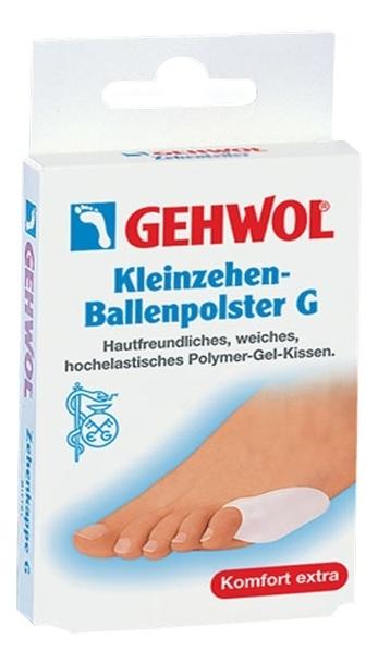 GEHWOL Защитная подушка под пятку G, средняя, 1 пара gehwol подушка под пальцы ног большая правая gehwol hammerzehen polster rechts 1 27503 1шт
