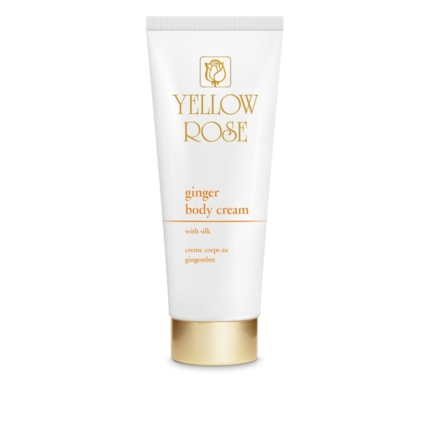 Yellow Rose Крем Ginger Body Cream для Тела с Имбирем, 250 мл
