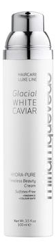 MIRIAMQUEVEDO Крем Glacial White Caviar Hydra-Pure Timeless Beauty Увлажняющий, 100 мл недорого