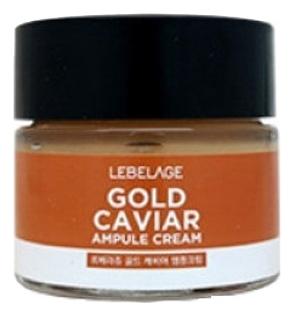 Lebelage Ампульный Крем с Экстрактом Икры Gold Caviar Ampule Cream, 70 мл ампульный концентрат экстракт икры супервостановление 3х2мл janssen ампульные концентраты