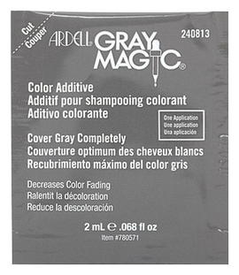 Provoc Средство Gray Magic Packet для Усиления Действия Краски Волос (Прокрашивает Седину), 2 мл